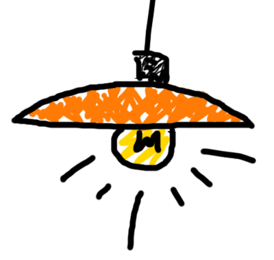cartoon picture of lamp